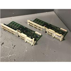 (2) SIEMENS 6SN1118-0DM33-0AA1 CONTROL CARD