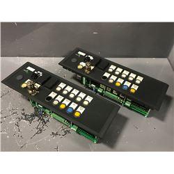 (2) SIEMENS 6FC5203-0AF28-4AU0 CONTROL PANEL