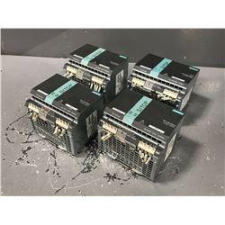 (4) SIEMENS 6EP1436-3BA00 SITOP POWER SUPPLY