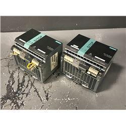 (2) SIEMENS 6EP1336-3BA00 SITOP POWER SUPPLY