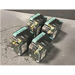 (4) SIEMENS 6EP1334-3BA00 SITOP POWER SUPPLY