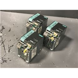 (3) SIEMENS 6EP1334-3BA00 SITOP POWER SUPPLY