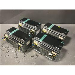 (4) SIEMENS 6EP1437-3BA00 SITOP POWER SUPPLY