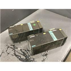 (2) SIEMENS 6EP1437-3BA00 POWER SUPPLY