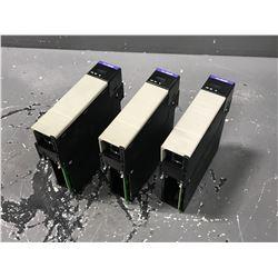 (3) ALLEN BRADLEY 1756-ENBT A ETHERNET/IP 10/100 MB/S COMMUNICATIONS BRIDGE