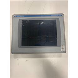 ALLEN-BRADLEY 2711P-RDT10C PANELVIEW PLUS 1000 W/2711P-RP2 LOGIC MODULE (CRACKED GLASS)