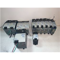 LOT OF ALLEN-BRADLEY POWER SUPPLIES (SEE PICS FOR PART NUMBERS)