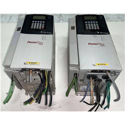 (2) - ALLEN-BRADLEY 20D D 022 A 3 EYNADACE POWERFLEX 700S DRIVES