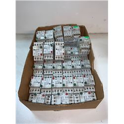 LOT OF (36) - ALLEN-BRADLEY 140-MN-0400 MANUAL MOTOR STARTERS
