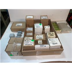 LOT OF NEW IN BOX - ALLEN-BRADLEY BREAKER, RELAYS, CONTACTORS (SEE PICS)