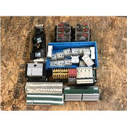 LOT OF ALLEN BRADLEY MISC. CONTACTOR *PART #'S PICTURED*