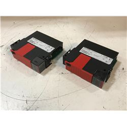 (2) ALLEN BRADLEY 1756-L7SP B GUARD LOGIX 55LSP PROCESSOR