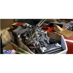 CAR AUDIO PARTS, AMPLIFIER, SEWING MACHINE PEDALS AND FIRE ESCAPE LADDER