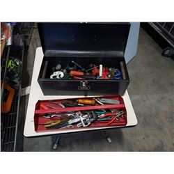 HOMAK TOOLBOX WITH CONTENTS