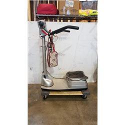 Silver mink adjustable height belt shaker machine