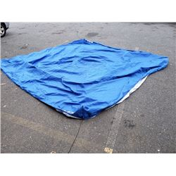 New ozark trail blue 10ft x 10ft canopy cover