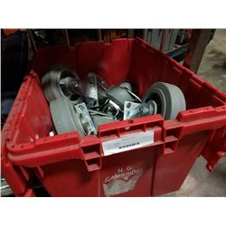 Tote of casters