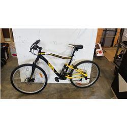 CCM static black and yellow bike