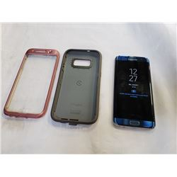 SAMSUNG GALAXY S7 EDGE, 32GB, BELL NETWORK CLEAR IMEI, WITH OTTERBOX