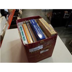 BOX OF HARDCOVER HOME IMPROVEMENT BOOKS