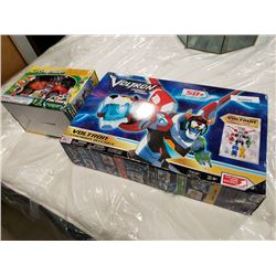 Voltron legendary offender transformer toy and gadget head toy factory car