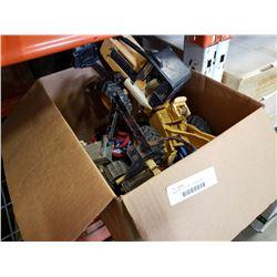 Box of toys, john deere, tonka and more