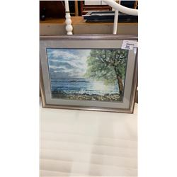 SIGNED WATER COLOUR MURIEL C.