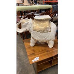 ELEPHANT GARDEN BENCH