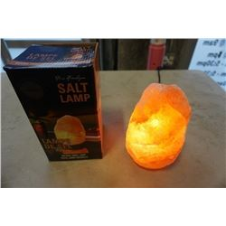 NEW NATURAL SALT ROCK LAMP IN BOX