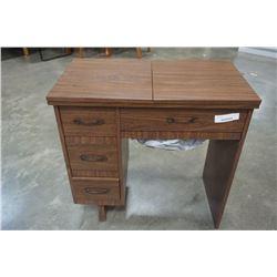 VINTAGE VIKING SEWING MACHINE TABLE