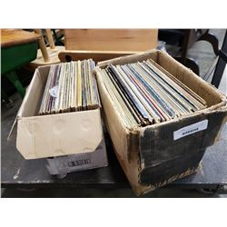 2 boxes of records,Beatlemania,The guess who, reggae and others