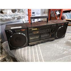 Pansonic RX-CT950 stereo boombox