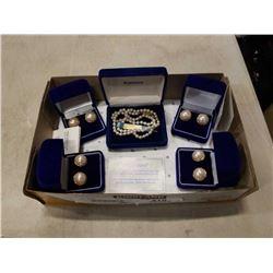 Box of kimono jewelry