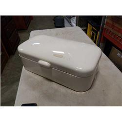 ENAMELED BREAD BOX
