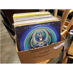 BOX OF RECORDS - ROCK AND OTHER, PINK FLOYD, JOURNEY, HEART
