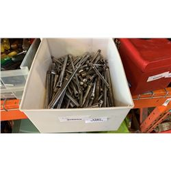BIN OF SOCKET WRENCH EXTENTIONS
