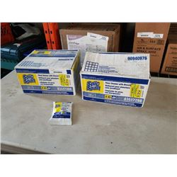 2 BOXES OF  SPIC AND SPAN  FLOOR CLEANER WITH BLEACH