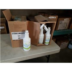 2 CASES FRESH WAVE AIR AND SURFACE SPRAY NATURAL ODOR ELIMINATOR AND SMOKE AWAY SPRAY