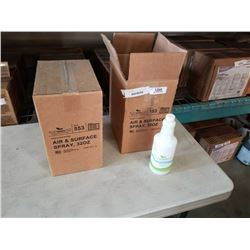 2 CASES FRESH WAVE AIR AND SURFACE SPRAY NATURAL ODOR ELIMINATOR