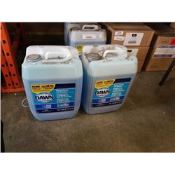 TWO 5 GALLON JUGS DAWN PROFESSIONAL MANUAL POT AND PAN DETERGENT