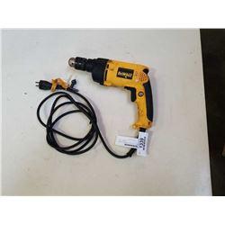 """DeWALT Hammerdrill - VSR - 1/2"""" - 7.8 Amp tested and working"""