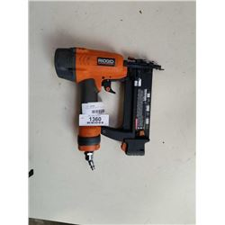 RIGID BRAD NAILER - TESTED AND WORKING