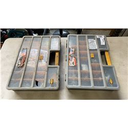 2 PARTS ORGANIZEERS WITH CONTENTS