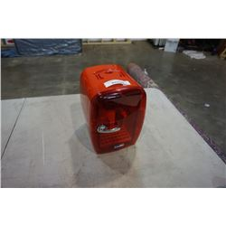 SMALL RED DRINK COOLER