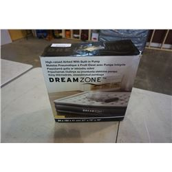 AS NEW IN BOX DREAMZONE AIR MATTRESS