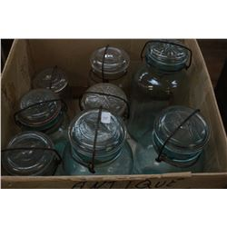 "Box of ""Perfect Seal Jars"""