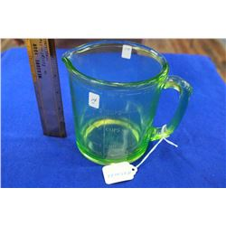 "Green Depression, ""Anchor Hocking""  1 Qt Measuring Pitcher"