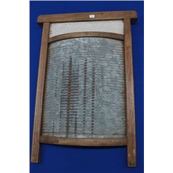 Curved Metal Washboard