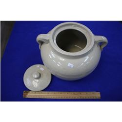"#4 Bean Pot - ""Medicine Hat Potteries"" , ""Medalta"""