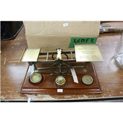 Letter Scale - Complete with Weights